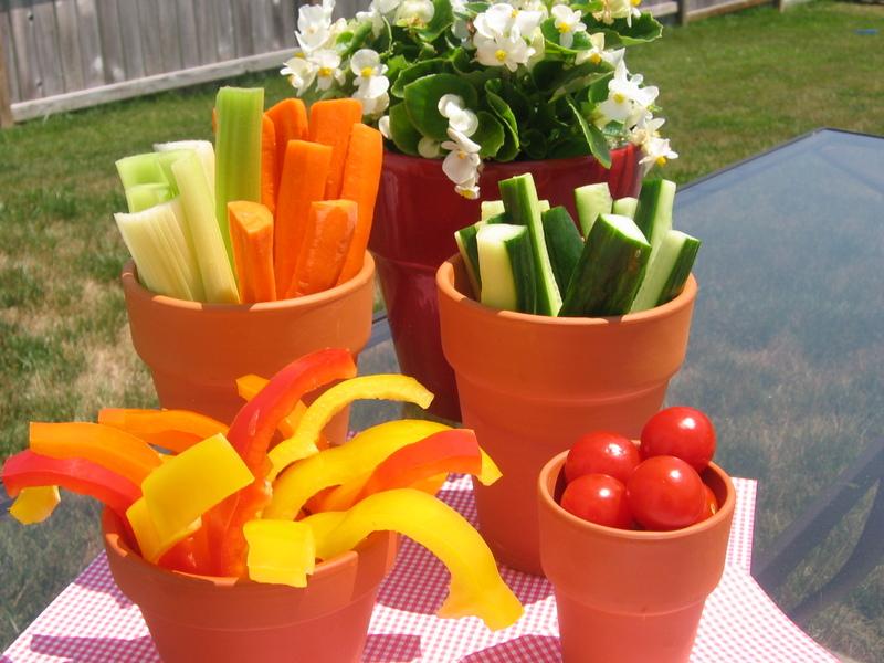 food safe flower pots